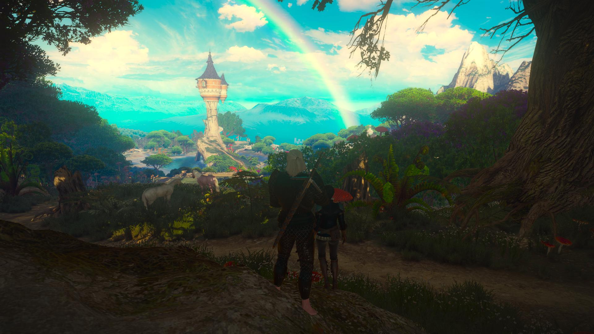 电子游戏 - 巫师3:狂猎  Geralt of Rivia The Witcher 3: Wild Hunt - Blood and Wine 壁纸