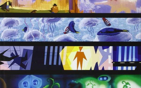 Movie Pixar Disney Wall·E Eve Plant Robot The Incredibles Explosion City Finding Nemo Marlin Dory Jellyfish Fish Ocean Toy Story Pig Cowboy HD Wallpaper | Background Image
