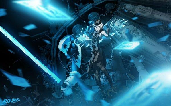Video Game Persona 4: Arena Persona Thanatos Elizabeth HD Wallpaper | Background Image