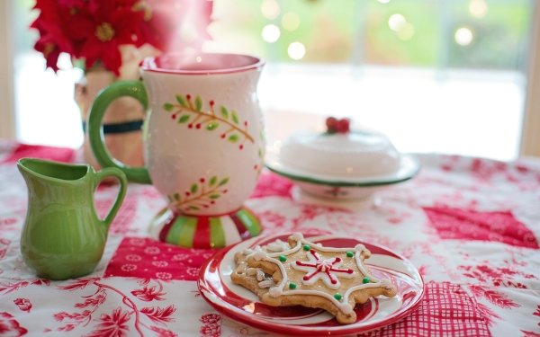 Food Cookie Christmas Still Life HD Wallpaper | Background Image