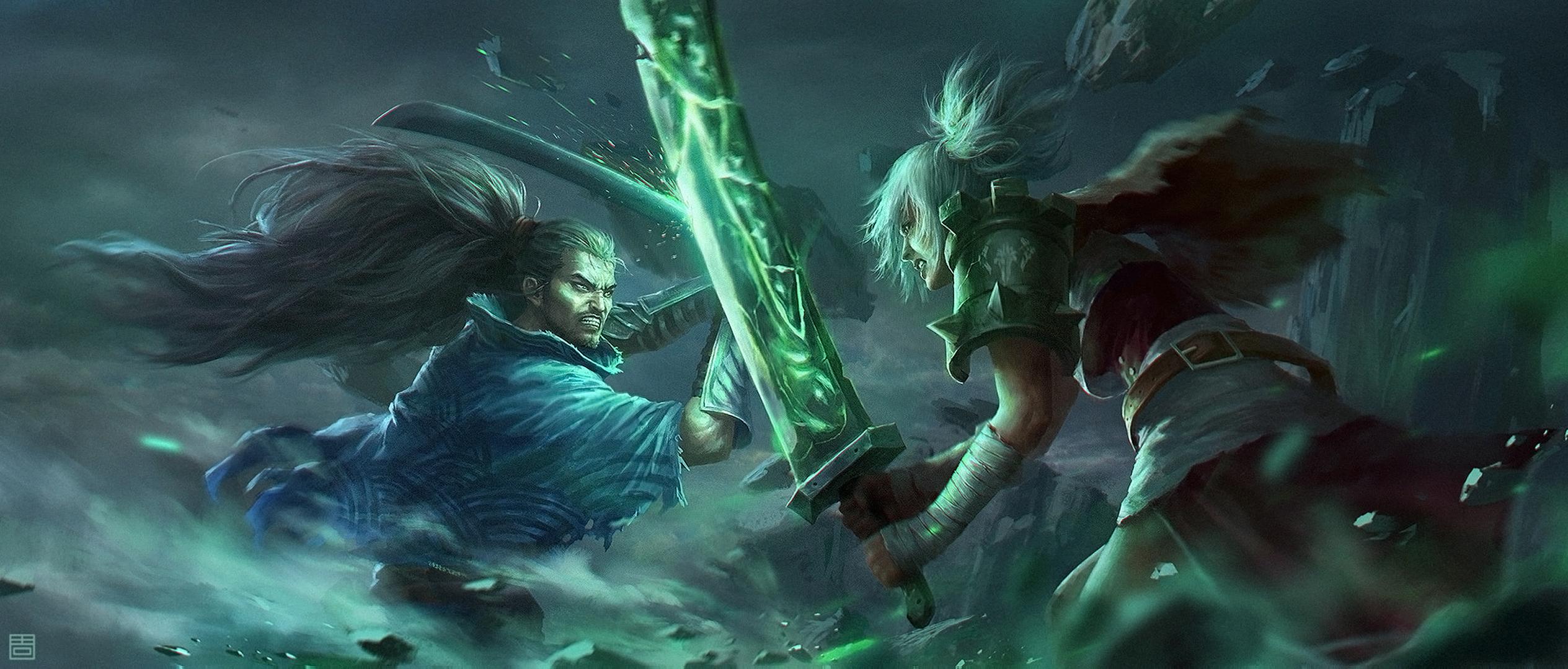 League Of Legends Papel de Parede HD  Plano de Fundo  2529x1080  ID:887234  Wallpaper Abyss
