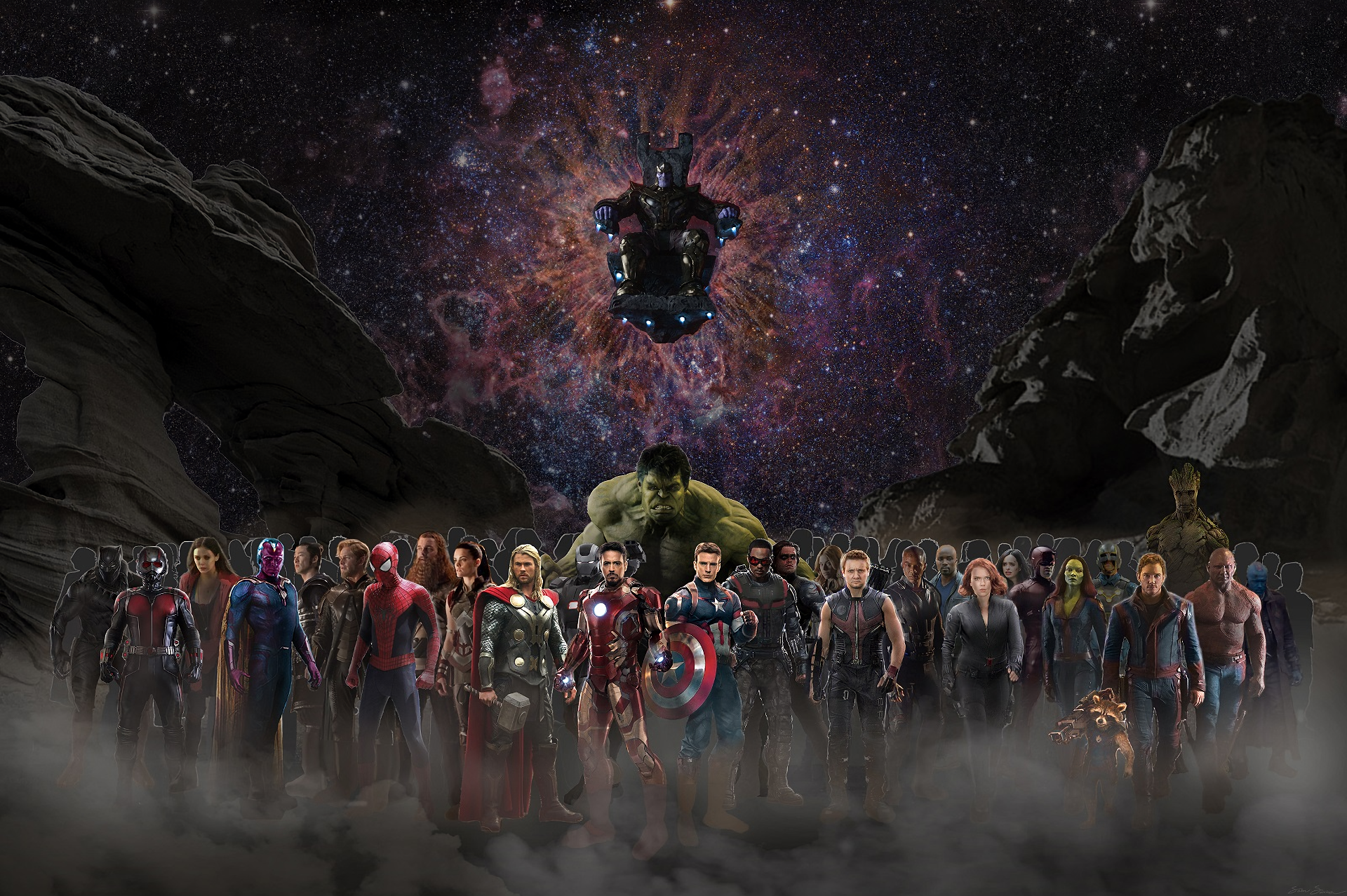Avengers Infinity War Hd Wallpaper Background Image