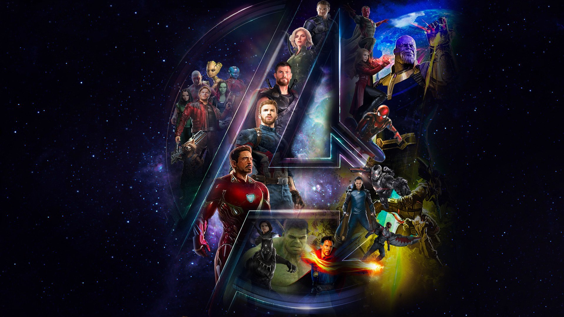 Hd Wallpaper Background Image Id X Movie Avengers Infinity War