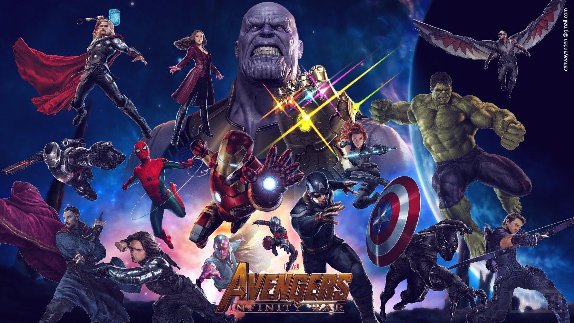 Black Panther 2018 Movie Still Full Hd Wallpaper: Avengers: Infinity War HD Wallpaper