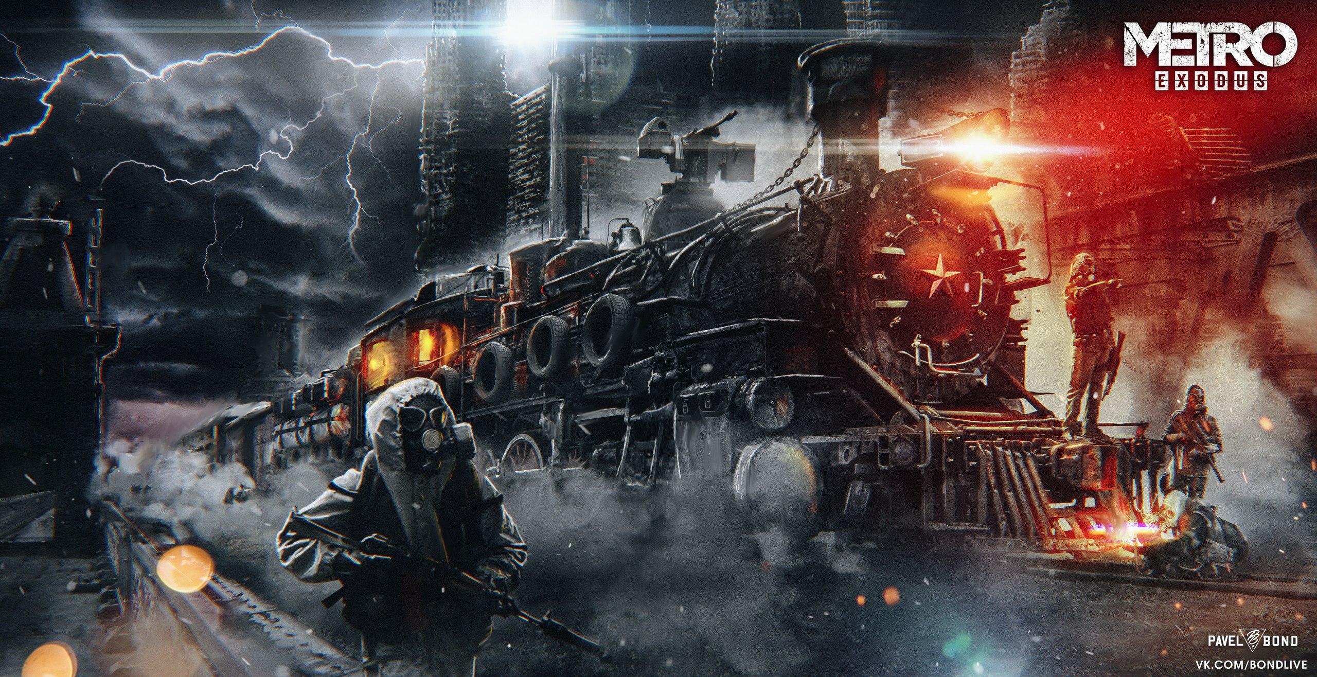 Metro Exodus HD Wallpaper   Background Image   2560x1316 ...