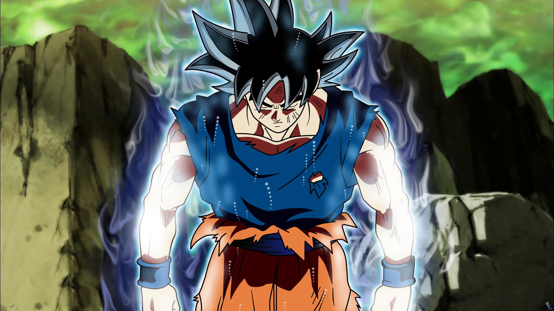 Los Mejores Fondos De Pantalla De Goku Migatte No Gokui Hd: Son Goku Migatte No Gokui :D 5k Retina Ultra Fondo De
