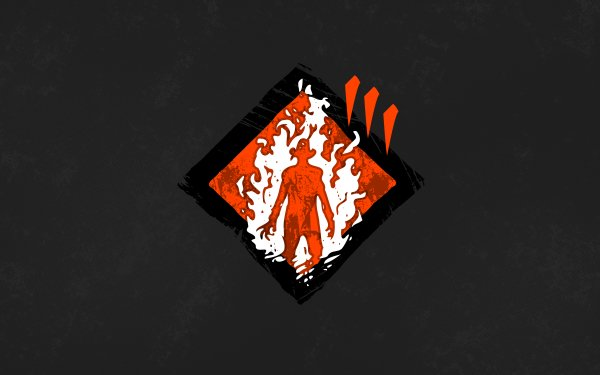 Video Game Dead by Daylight Fire Up Minimalist HD Wallpaper | Background Image