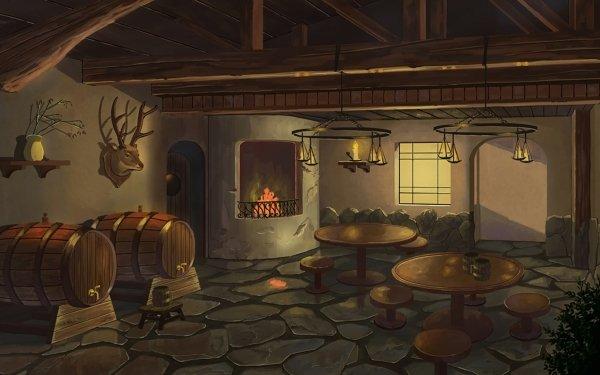 Anime Original Barrel HD Wallpaper | Background Image
