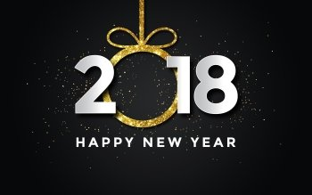 new year 2018 hd wallpaper background image id891037