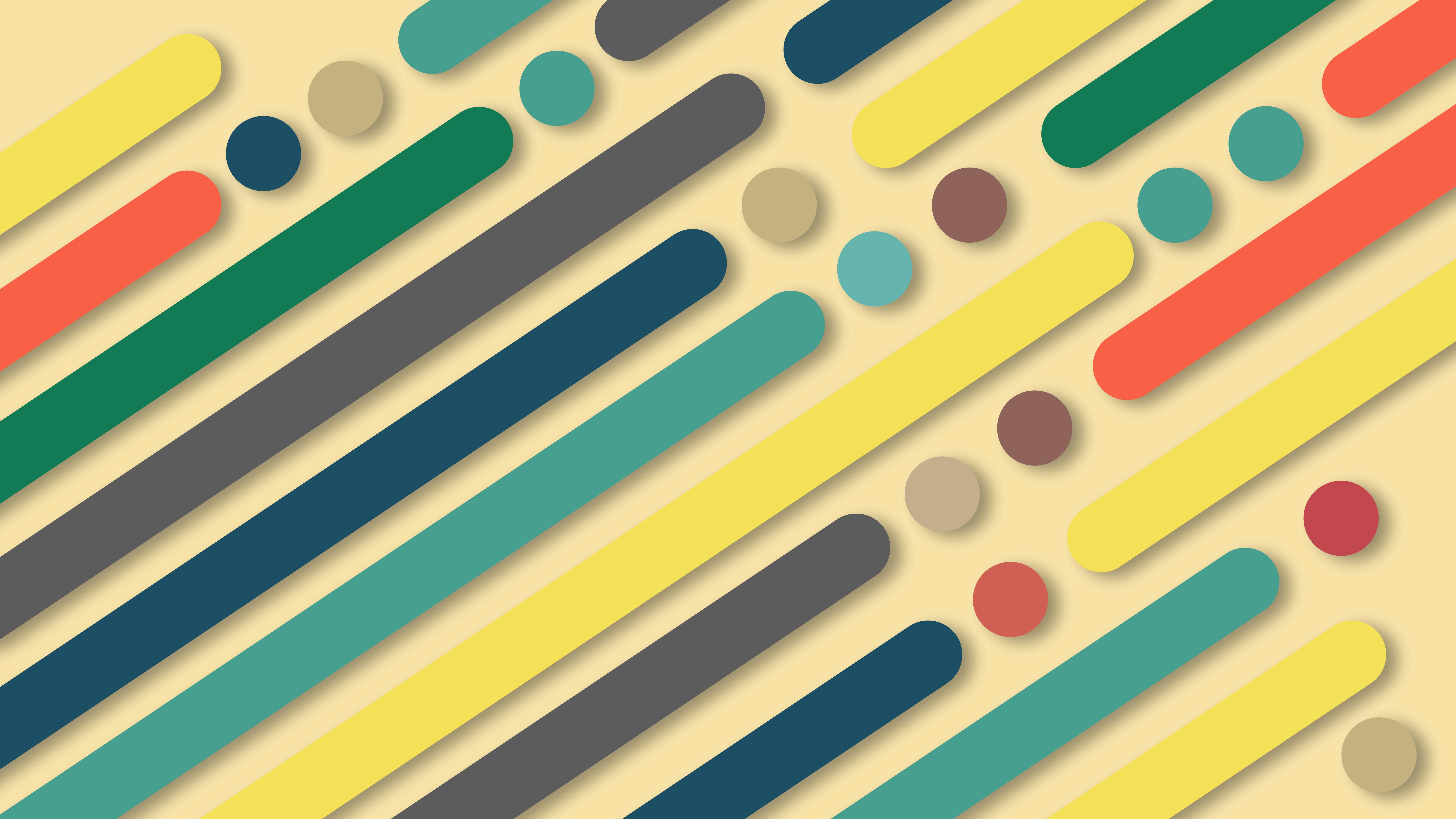 Coloured Shapes Wallpaper 8k Ultra Hd Wallpaper