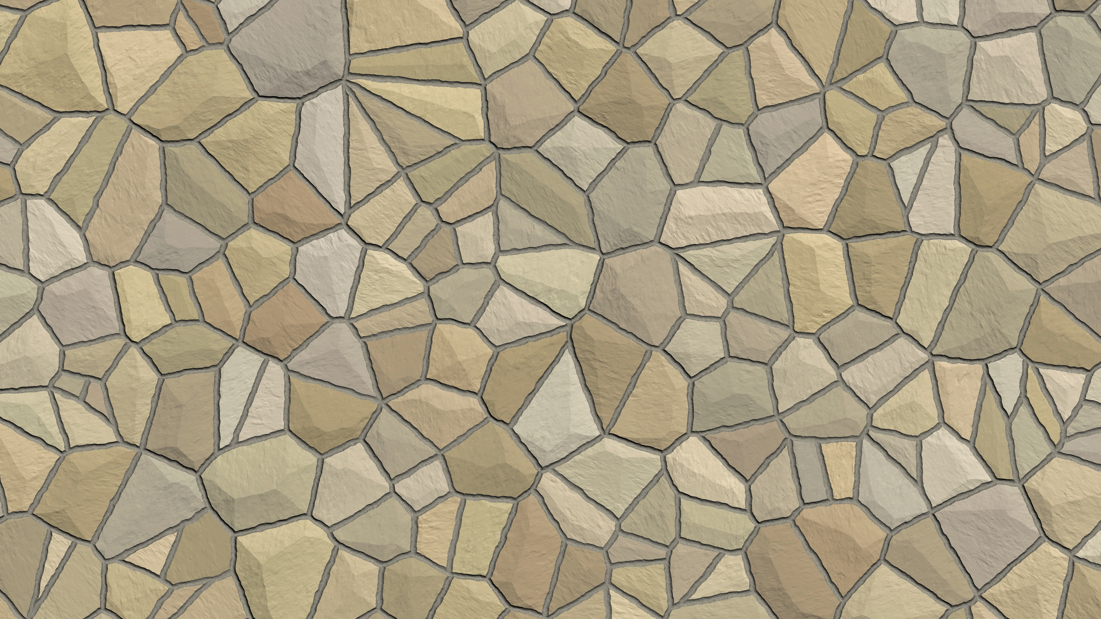 Brown And Cream Mosaic Tile Wallpaper 4k Ultra Hd Wallpaper