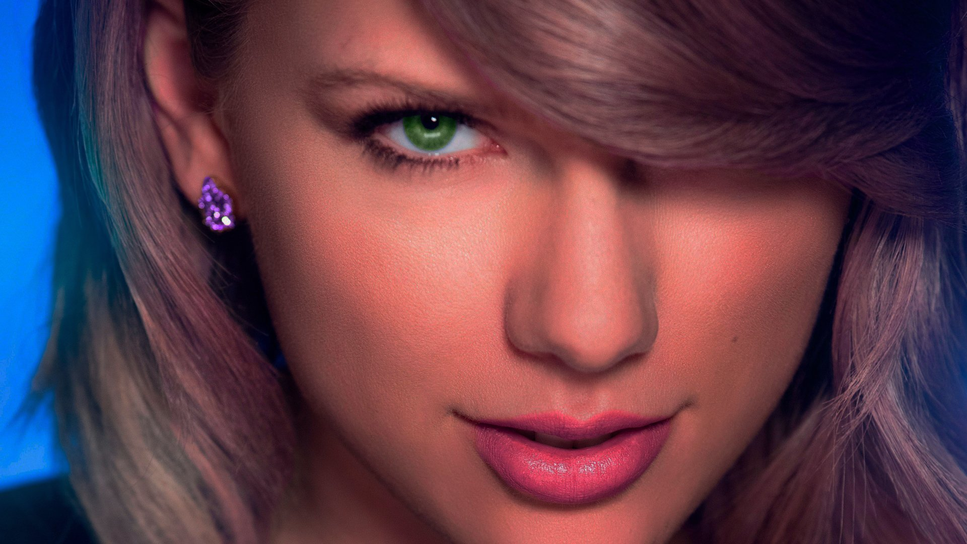 taylor swift green eye with blueish tint edit full hd