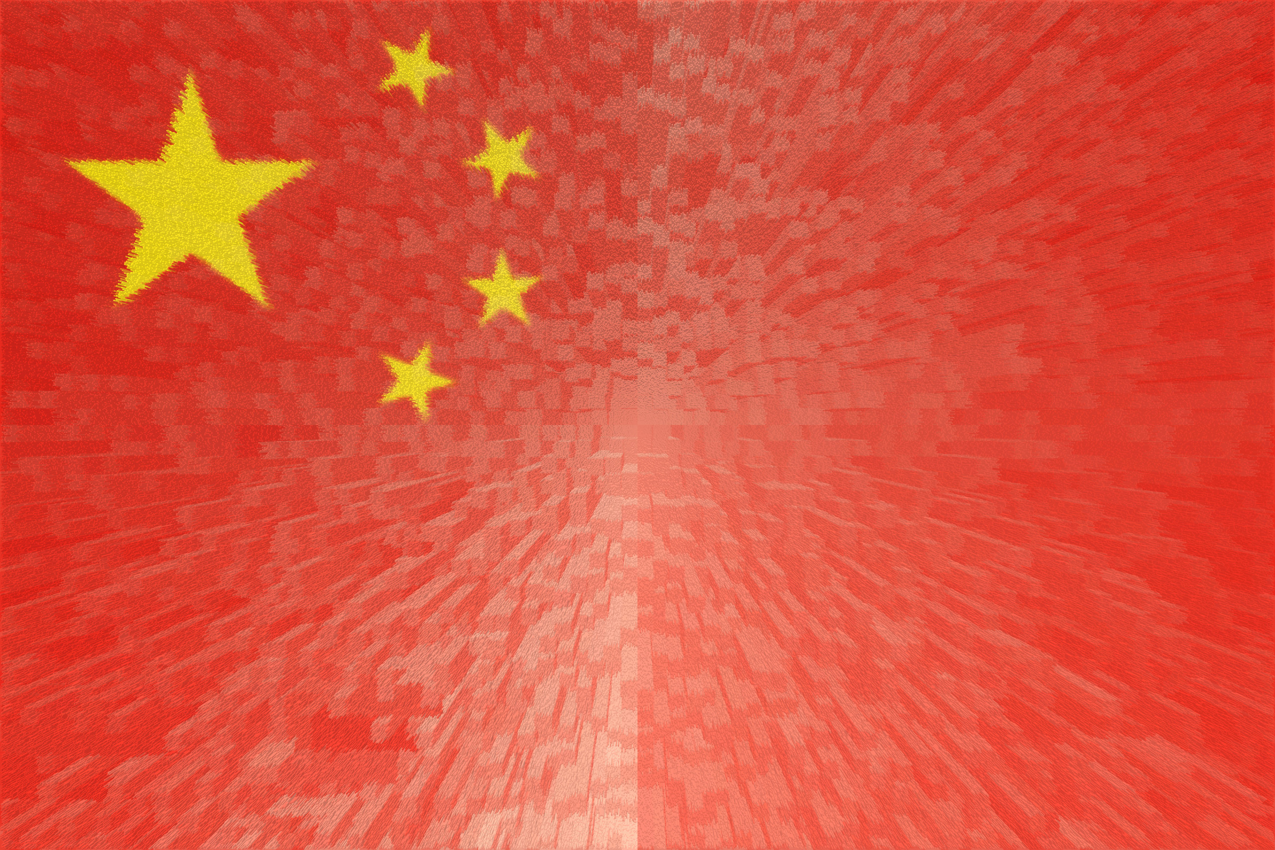 Chinese Flag HD Wallpaper