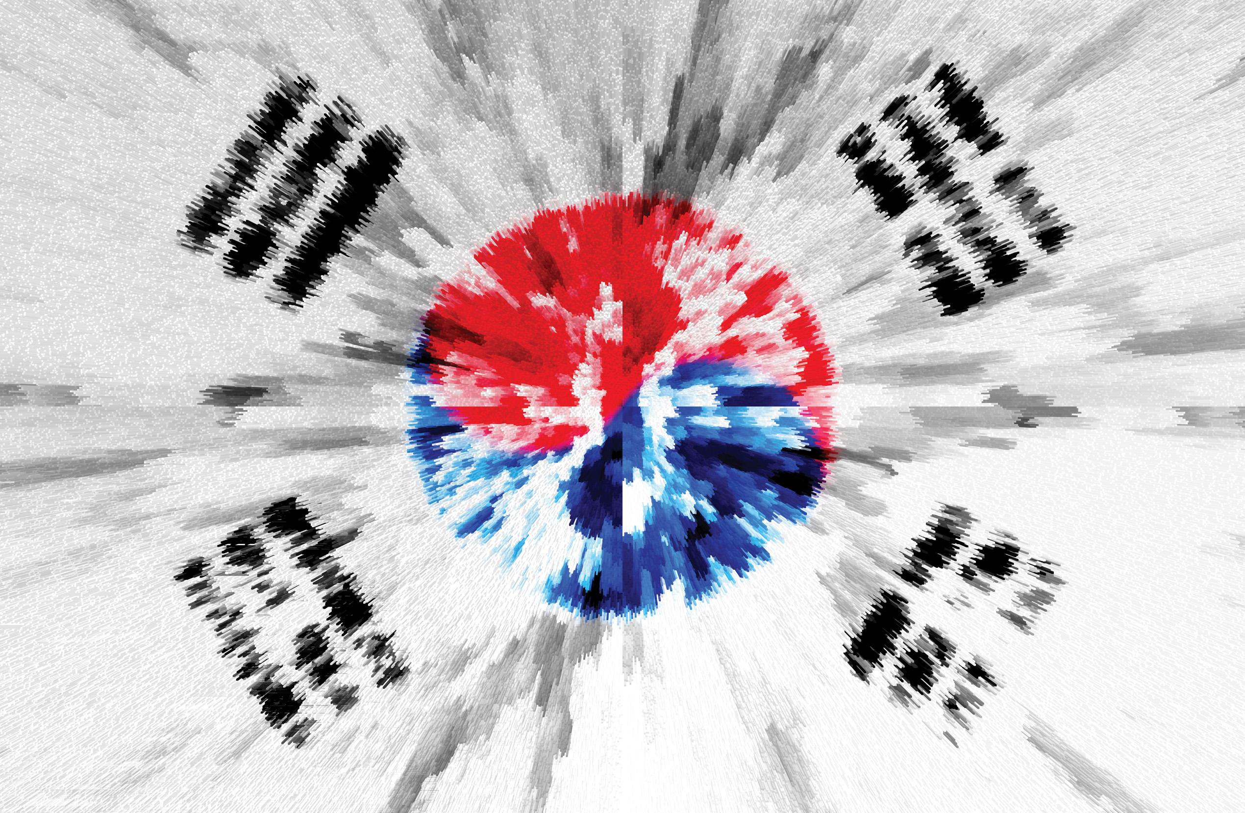 South Korean Flag Hd Wallpaper Background Image 2540x1658 Id