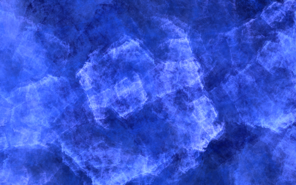 Abstract Blue Fractal Apophysis Ice HD Wallpaper | Background Image