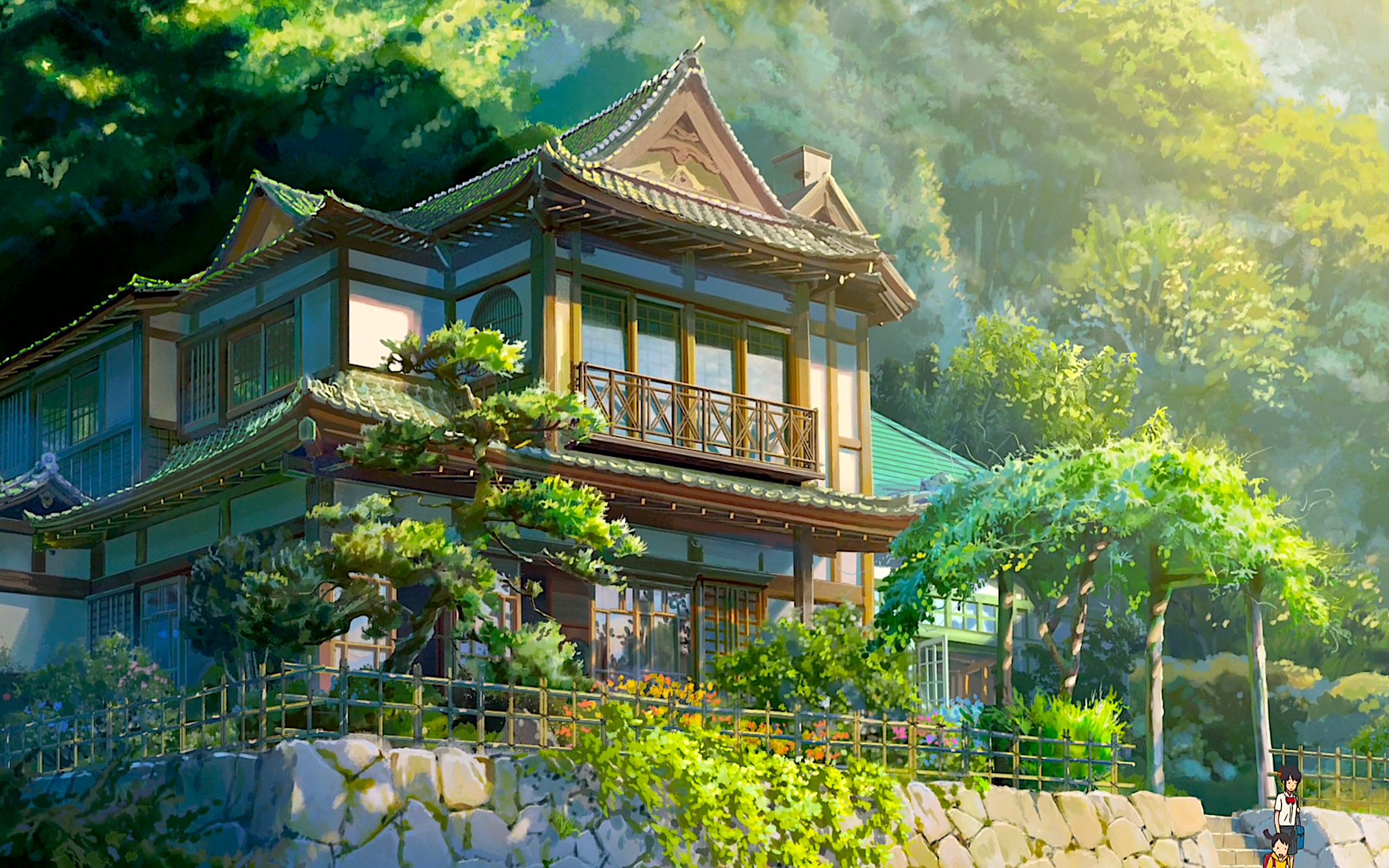 Miyamizu residence full hd wallpaper and background image for Wallpaper for your home