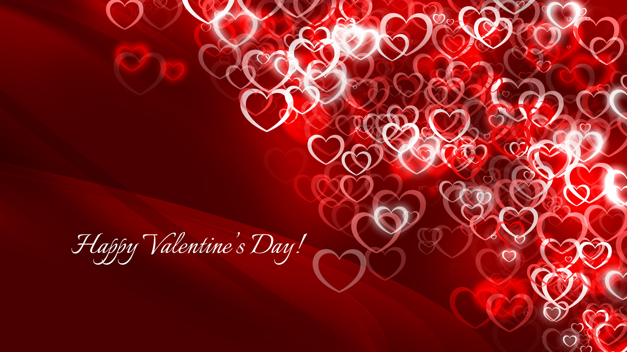 happy valentine's day card full hd wallpaper and background image