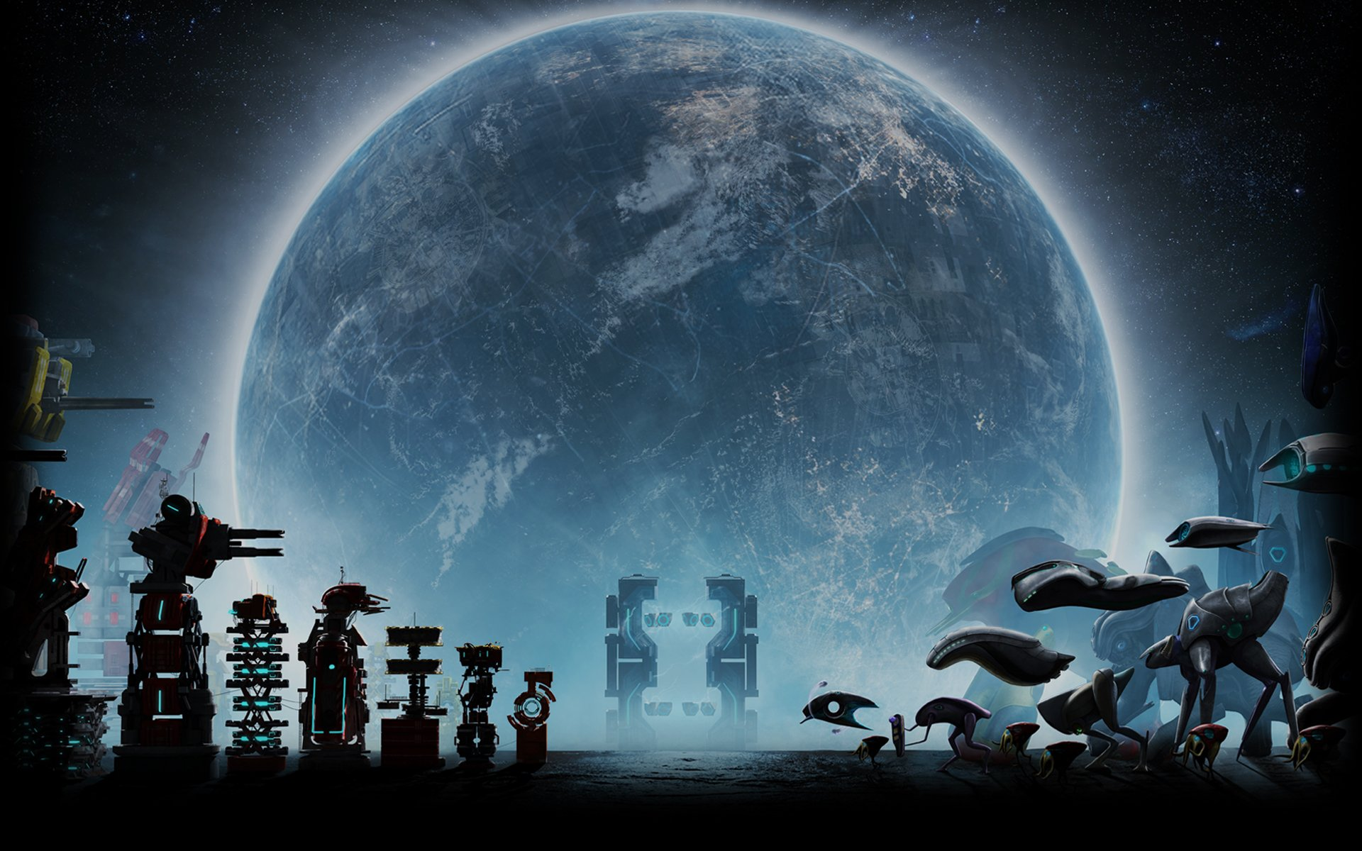 Video Game - Defense Grid 2  Planet Wallpaper