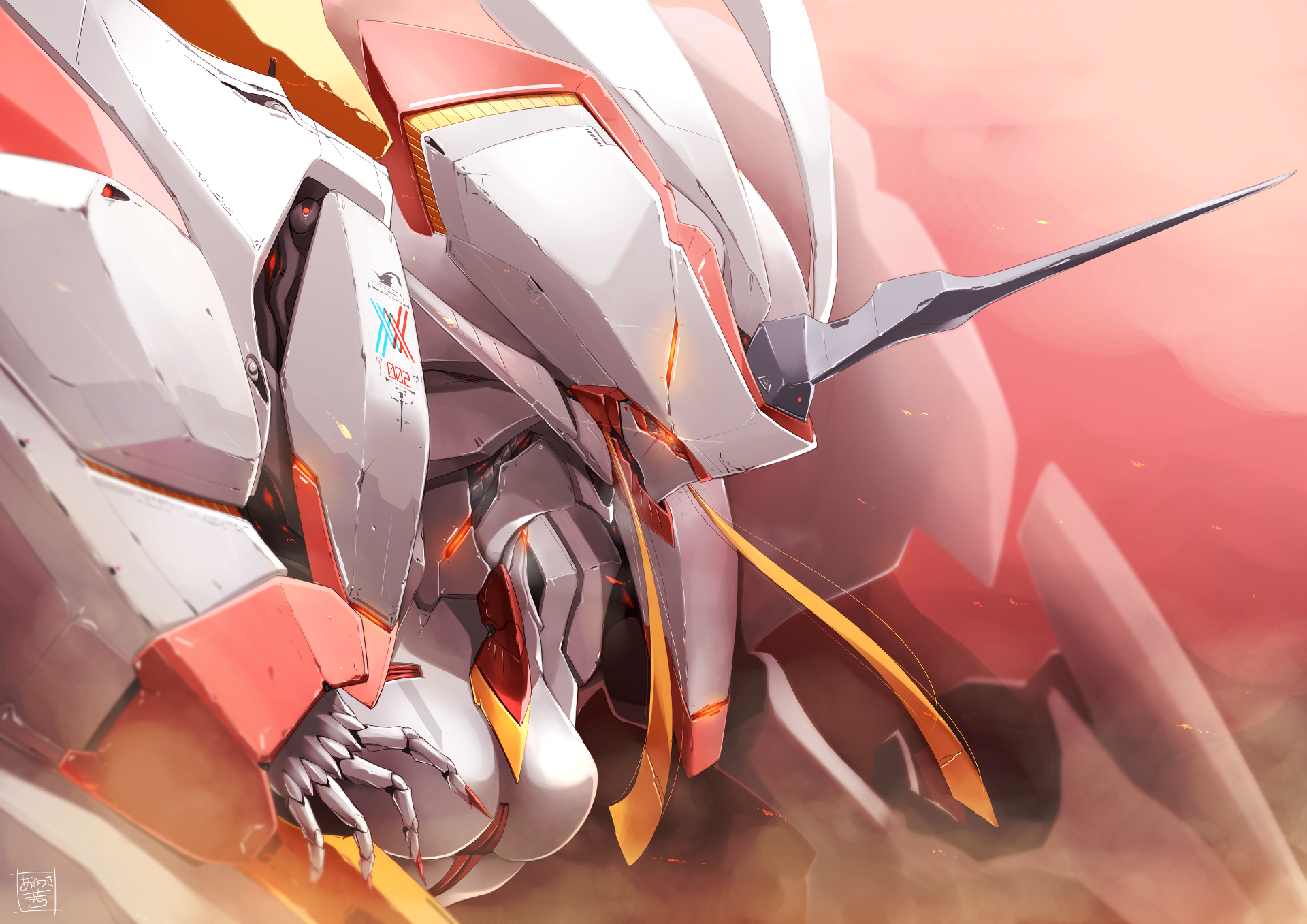 36 Strelizia Darling In The Franxx Hd Wallpapers Background