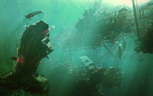 Fantasy Underwater HD Wallpaper | Background Image