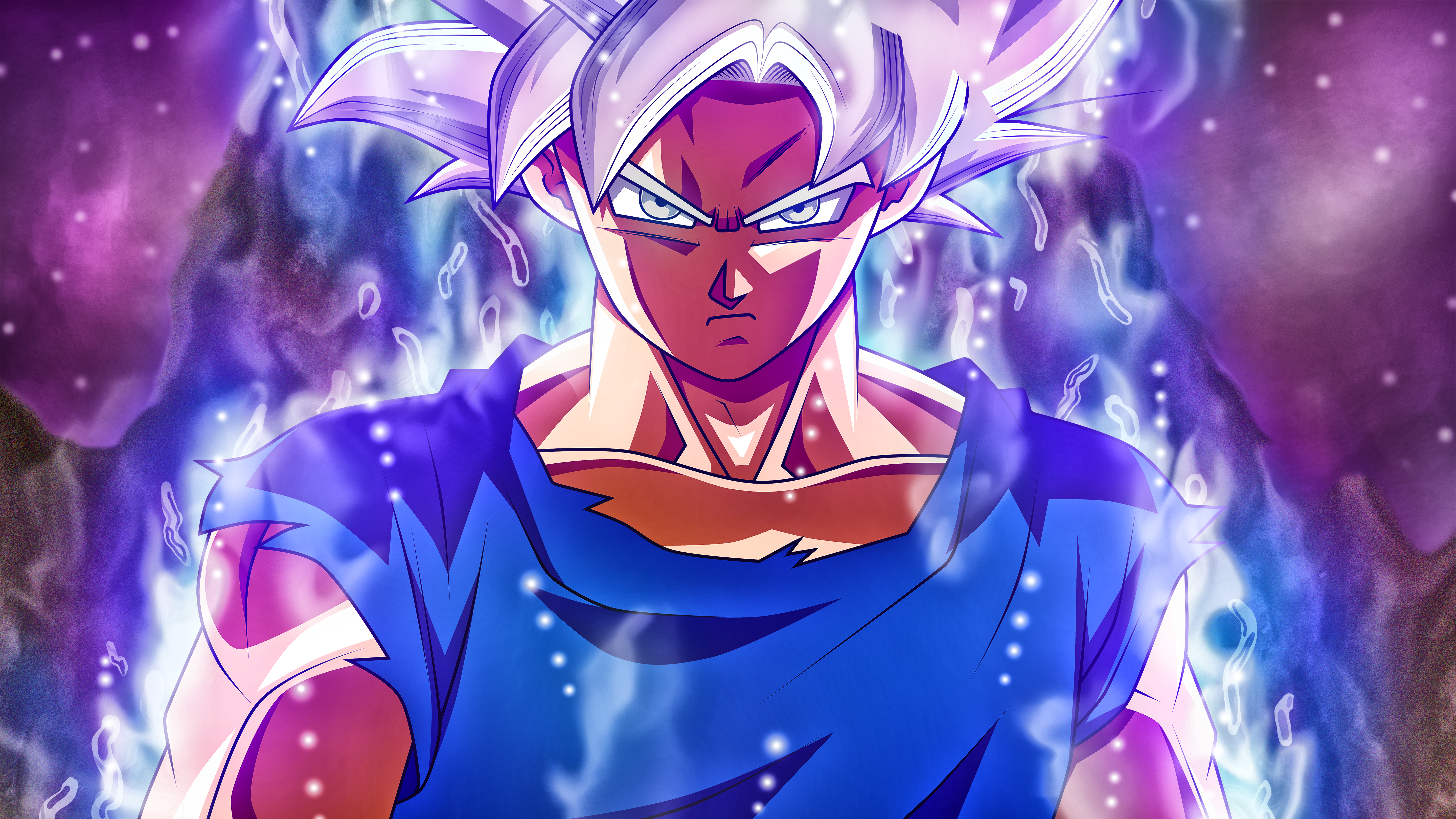Wallpaper dragon ball ultra instinct
