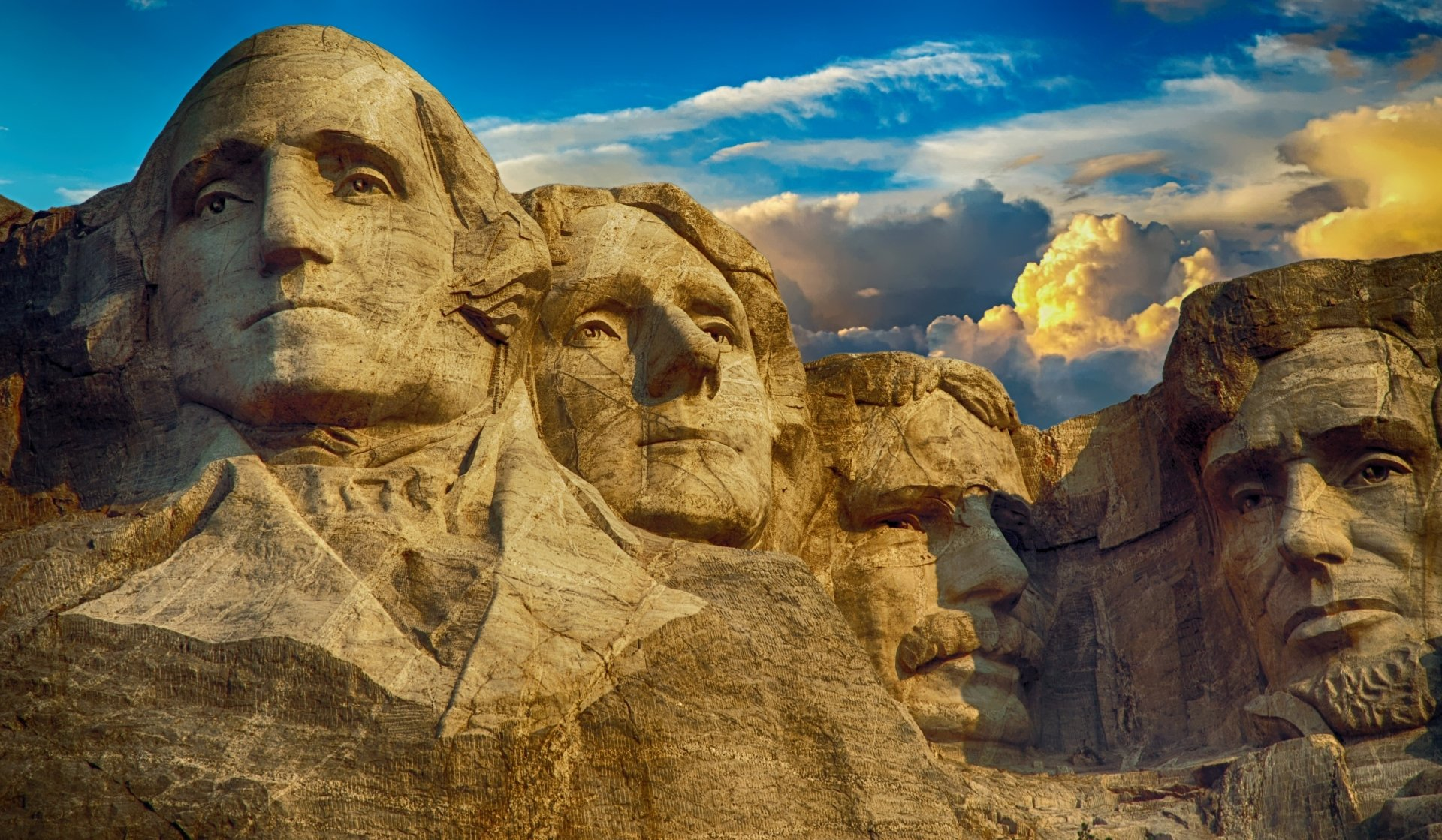 Man Made - Mount Rushmore  Memorial Monument Sculpture President Wallpaper