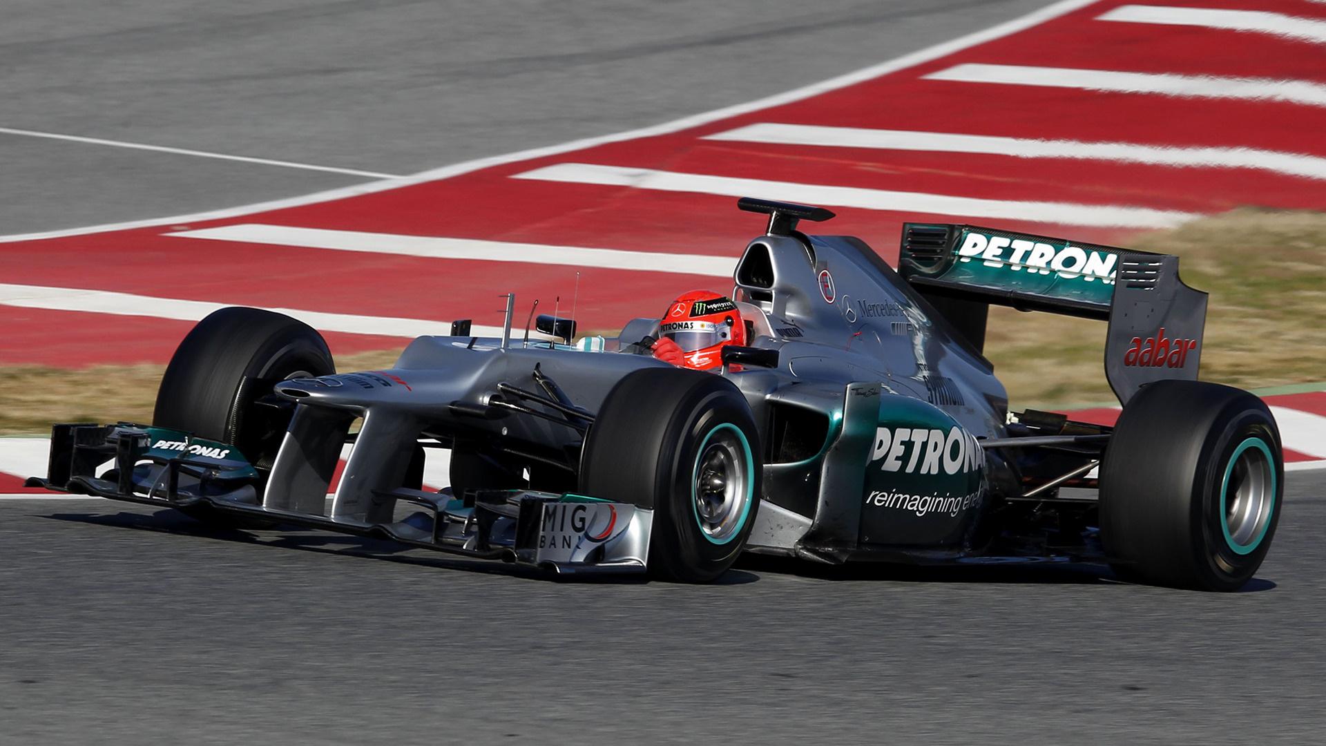 2012 Mercedes Amg F1 W03 Fondo De Pantalla Hd Fondo De