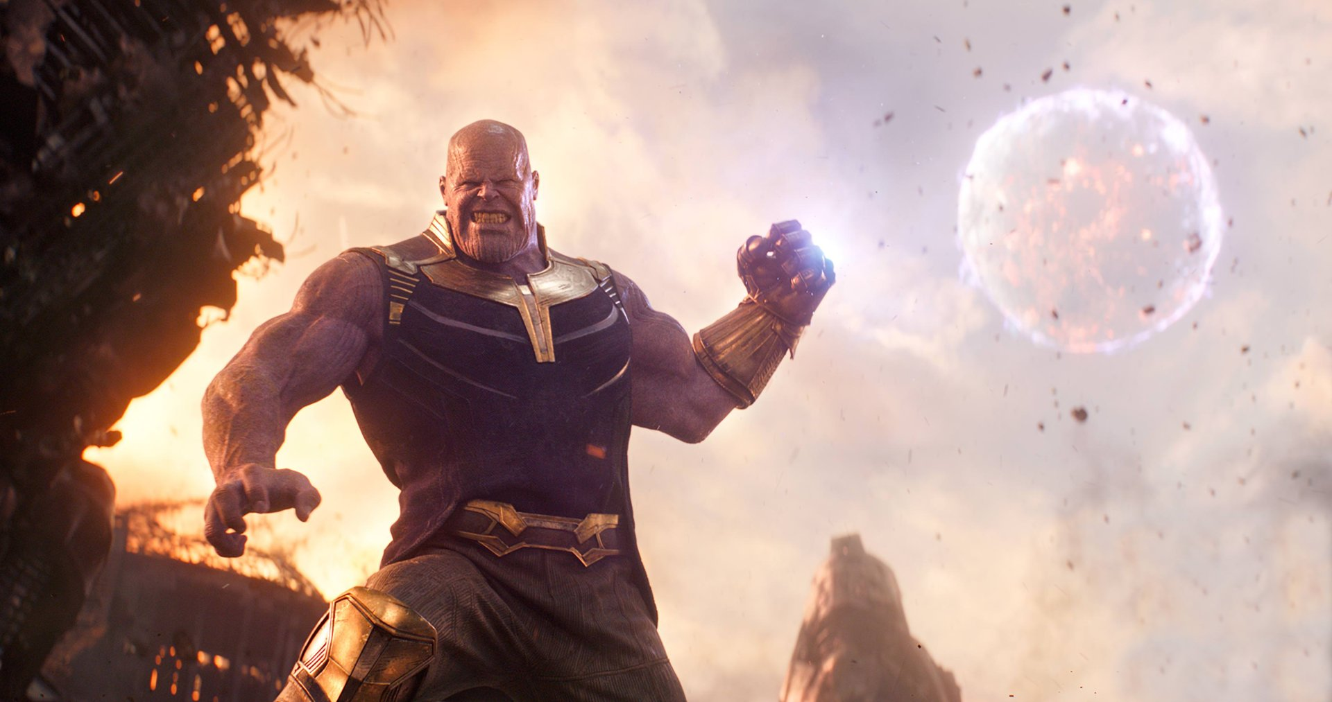 Movie - Avengers: Infinity War  Thanos Josh Brolin Wallpaper
