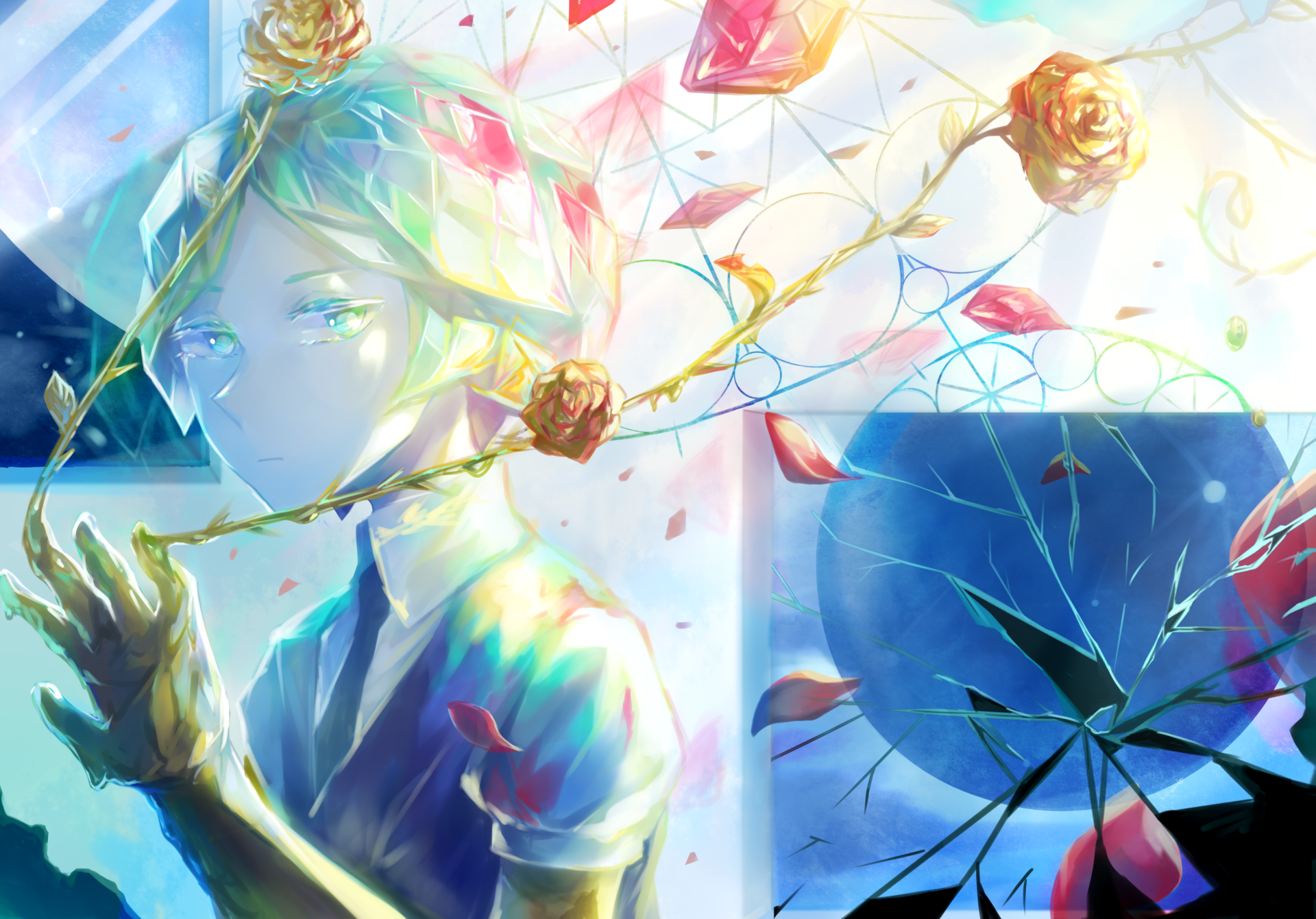 Anime - Houseki no Kuni  Phosphophyllite (Houseki no Kuni) Wallpaper