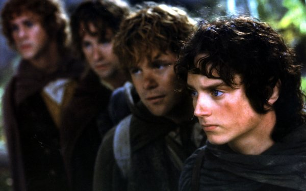 Movie The Lord of the Rings: The Fellowship of the Ring The Lord of the Rings Movies Frodo Baggins Samwise Gamgee Peregrin Took Merry Brandybuck Elijah Wood Sean Astin Billy Boyd Dominic Monaghan HD Wallpaper | Background Image