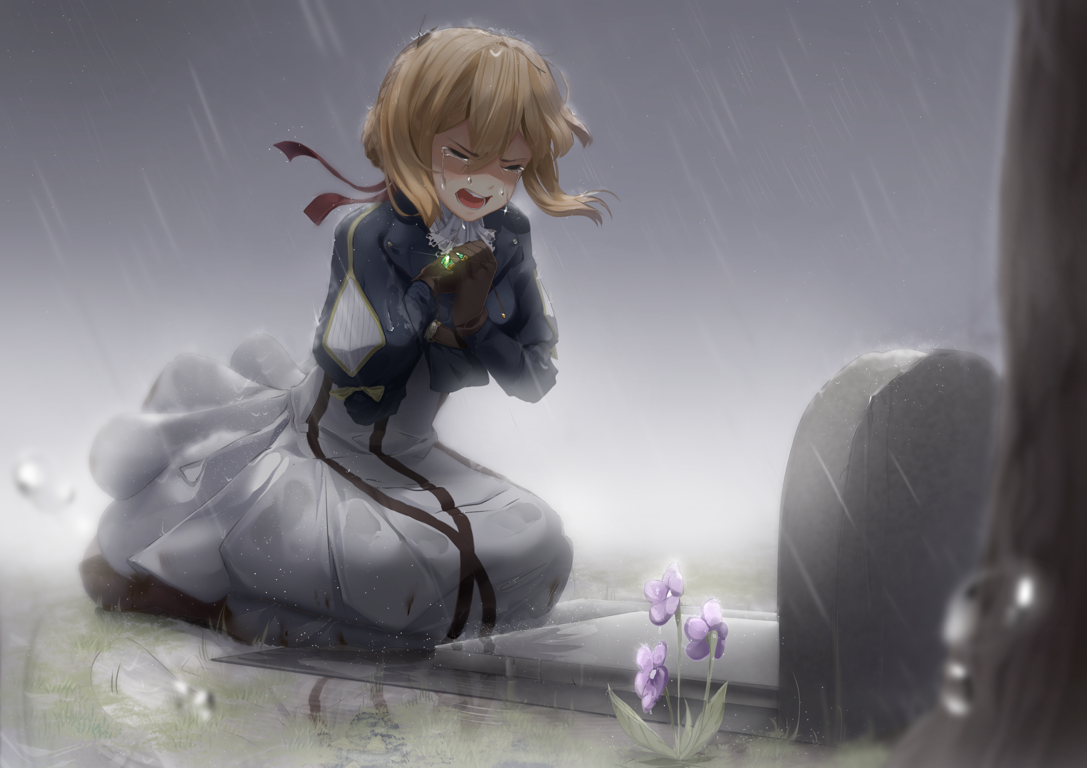 Violet Evergarden HD Wallpaper | Background Image | 3508x2480 | ID:909554 - Wallpaper Abyss