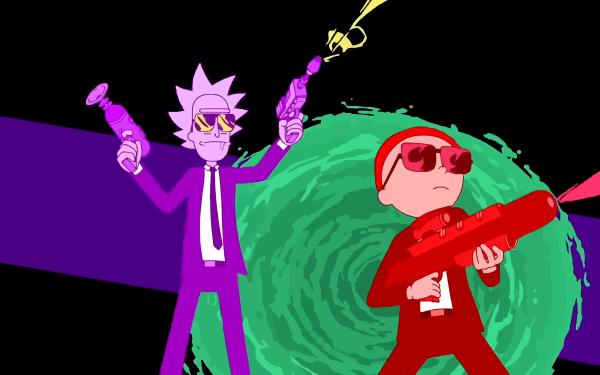 TV Show Rick and Morty Run the Jewels Rick Sanchez Morty Smith HD Wallpaper | Background Image