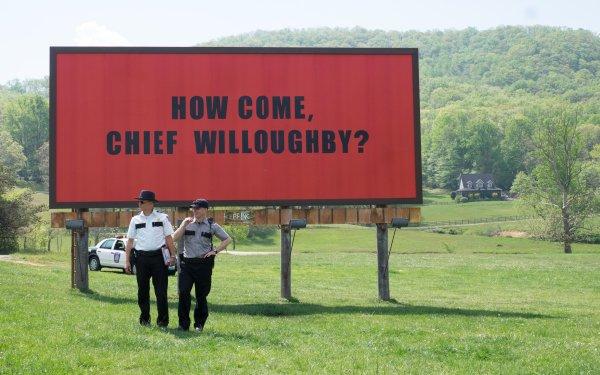 Movie Three Billboards Outside Ebbing, Missouri Woody Harrelson Sam Rockwell HD Wallpaper   Background Image
