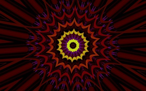 Abstract Artistic Colors Pattern Kaleidoscope HD Wallpaper | Background Image