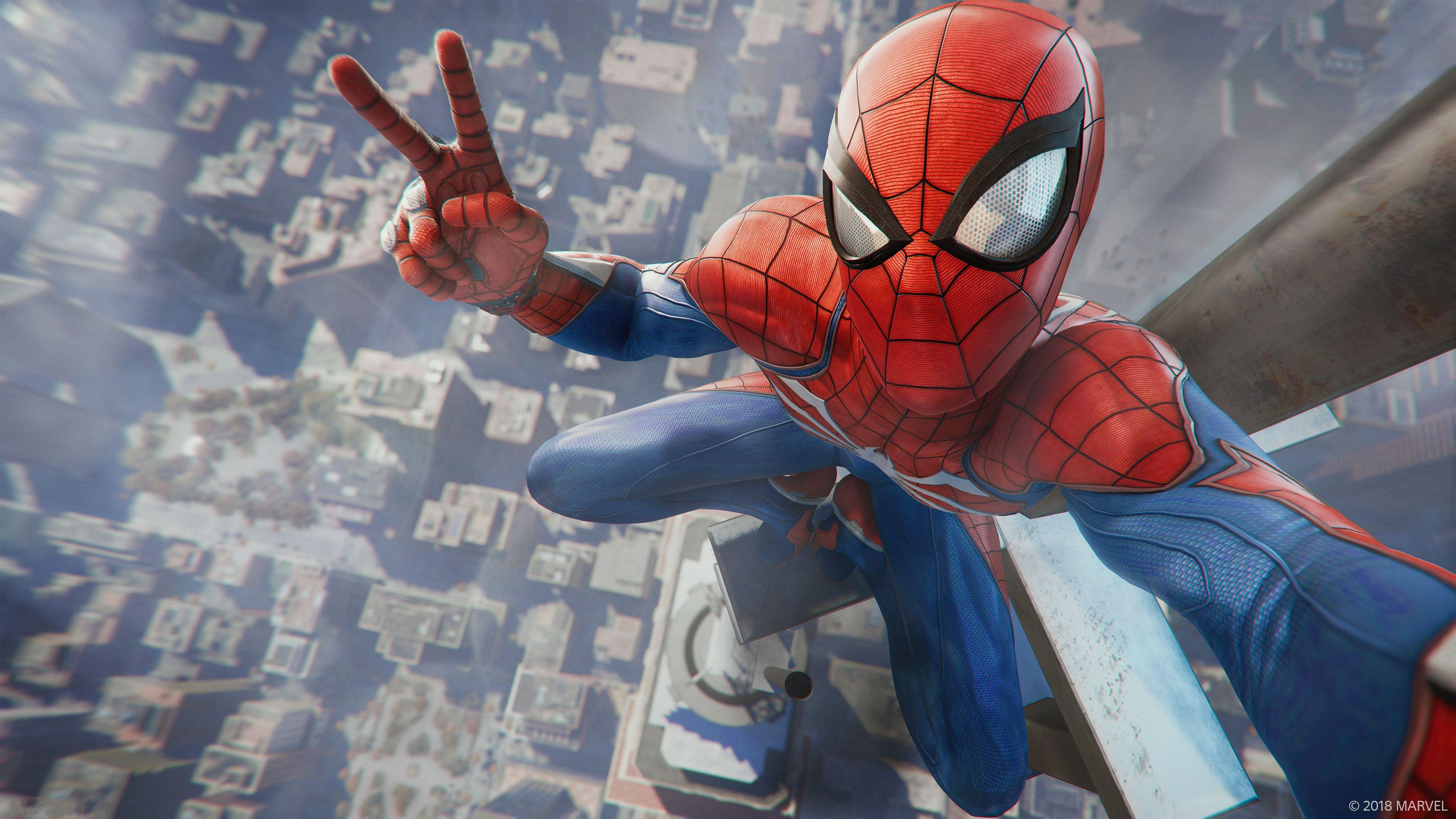 Spider-Man (PS4) Fondo De Pantalla And Fondo De Escritorio