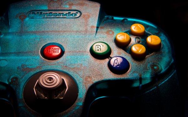 Videojuego Nintendo 64 Consolas Nintendo Controller Fondo de pantalla HD | Fondo de Escritorio