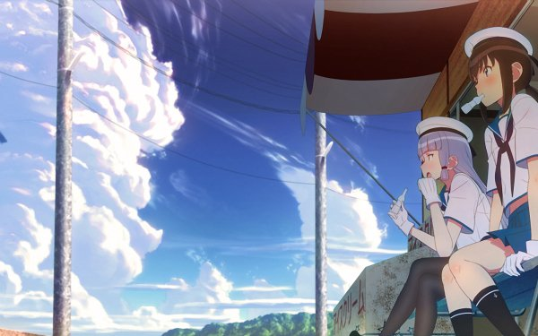 Anime Kantai Collection Murakumo Fubuki HD Wallpaper   Background Image