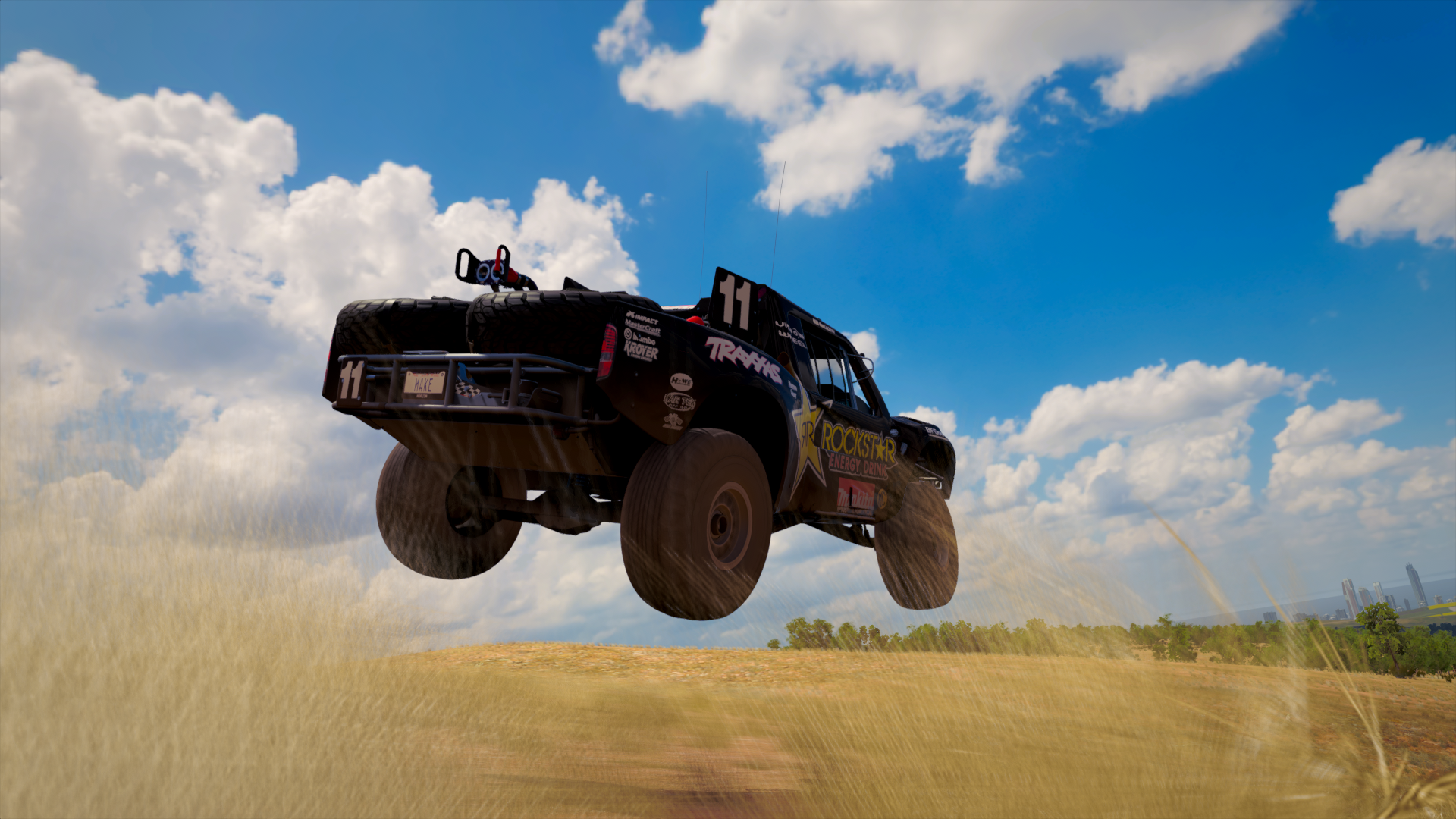 Trophy Truck On Rampage Hd Wallpaper Background Image 1920x1080 Id 916147 Wallpaper Abyss