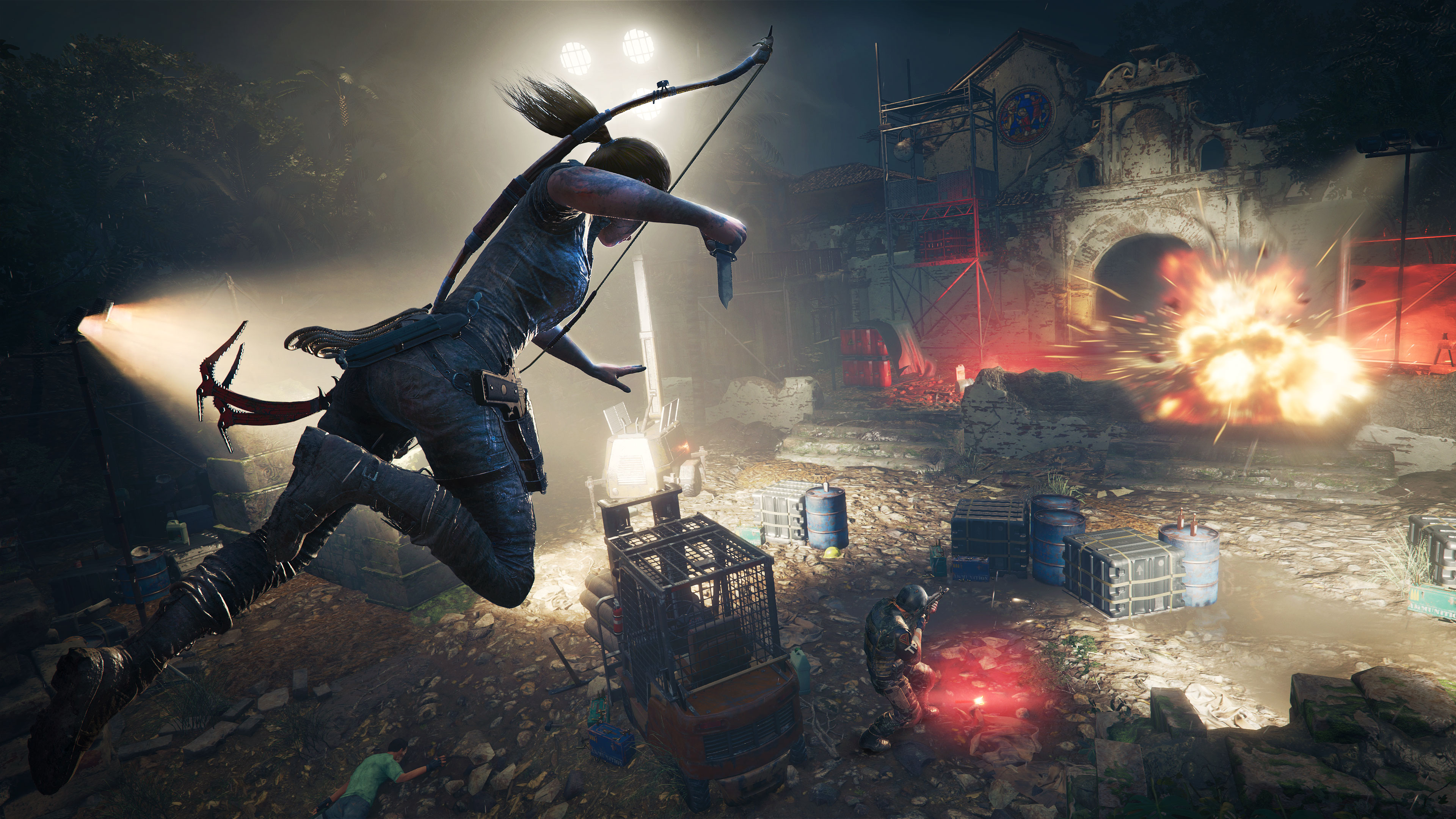 Shadow Of The Tomb Raider 4k Ultra Papel De Parede HD