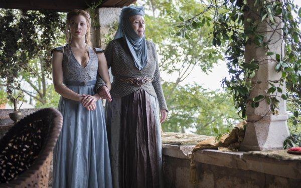 TV Show Game Of Thrones Margaery Tyrell Olenna Tyrell Natalie Dormer Diana Rigg HD Wallpaper | Background Image