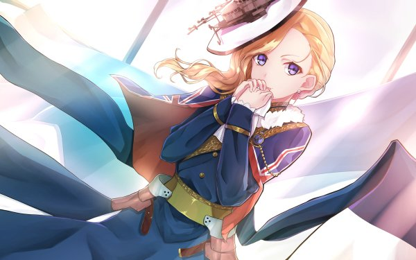 Anime Azur Lane Hood HD Wallpaper | Background Image