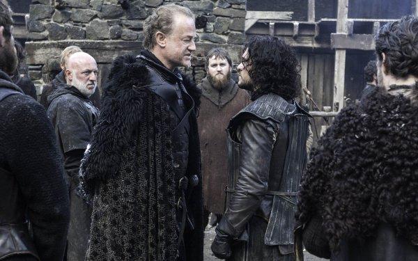 TV Show Game Of Thrones Alliser Thorne Jon Snow Owen Teale Kit Harington HD Wallpaper | Background Image