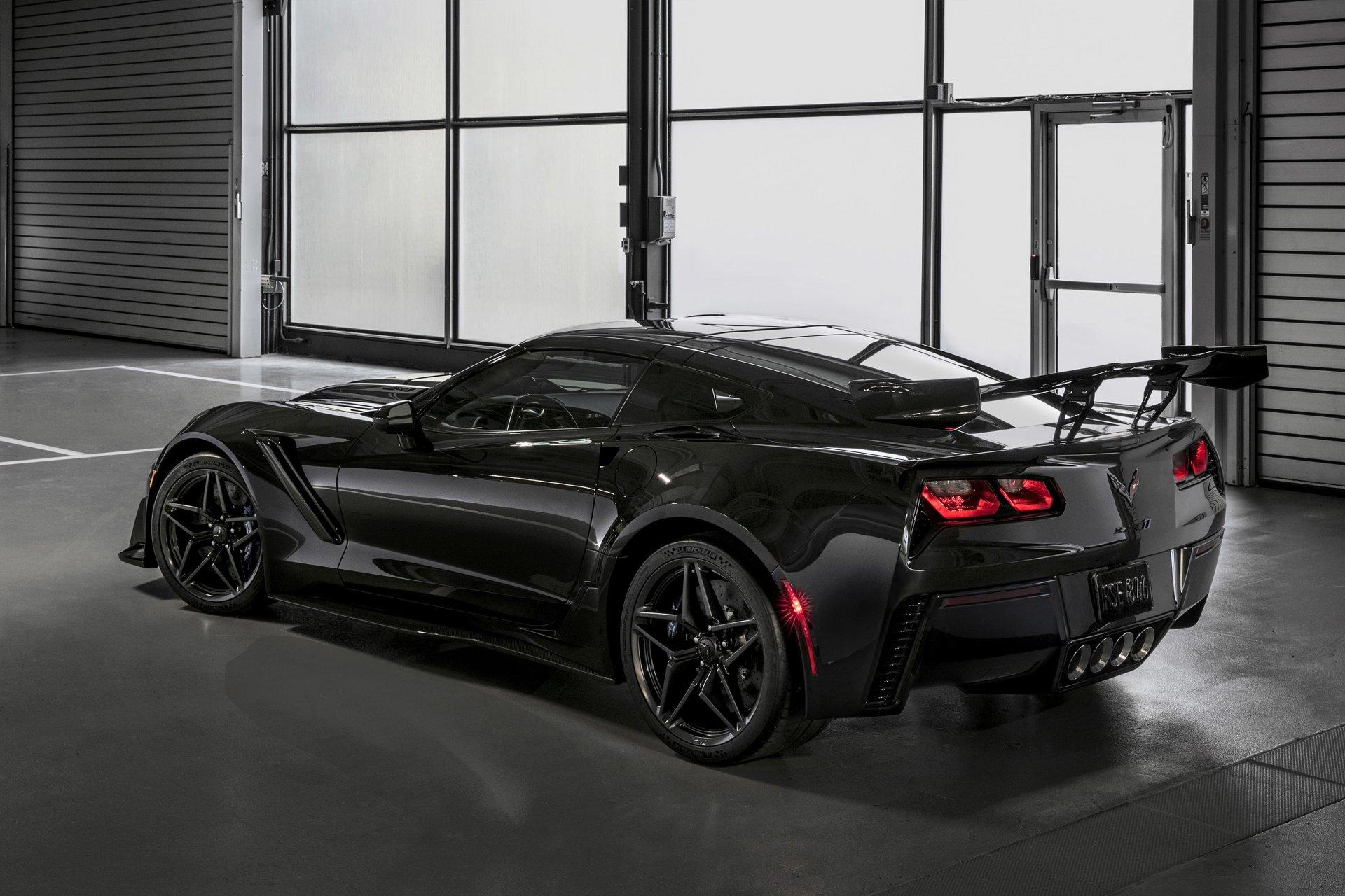 2018 Chevrolet Corvette Zr1 Fondo De Pantalla Hd Fondo De