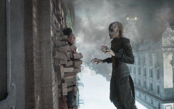 Movie Avengers: Infinity War The Avengers Doctor Strange Ebony Maw Benedict Cumberbatch HD Wallpaper | Background Image