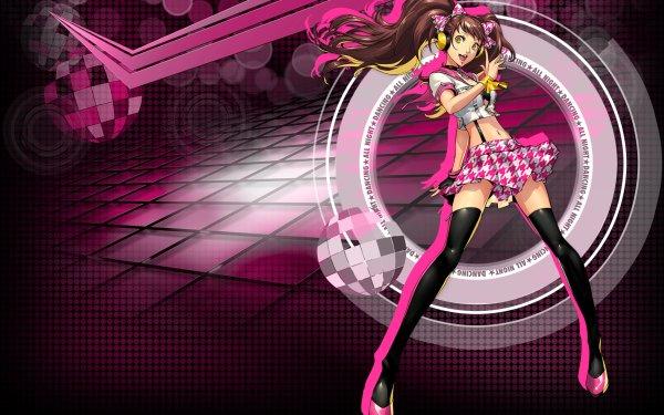 Video Game Persona 4: Dancing all Night Persona Rise Kujikawa HD Wallpaper | Background Image