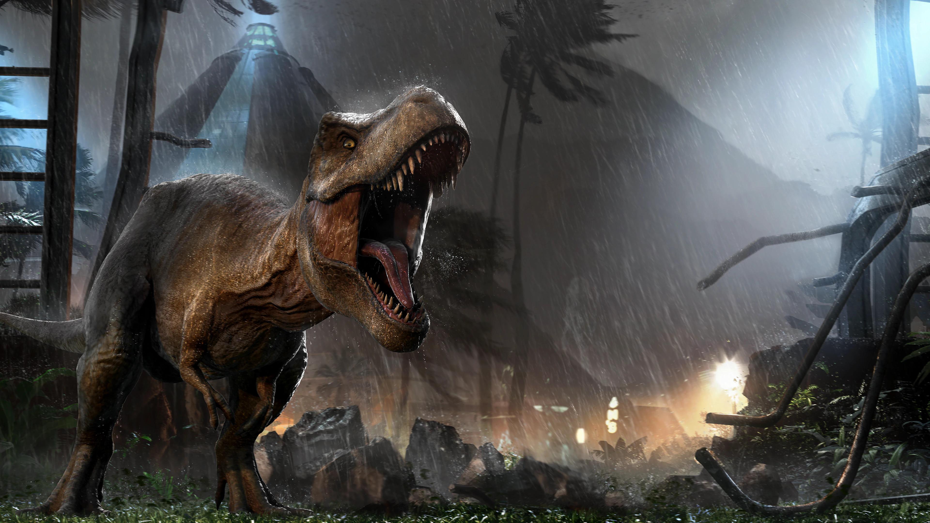 Jurassic World Evolution Fondo De Pantalla Hd Fondo De