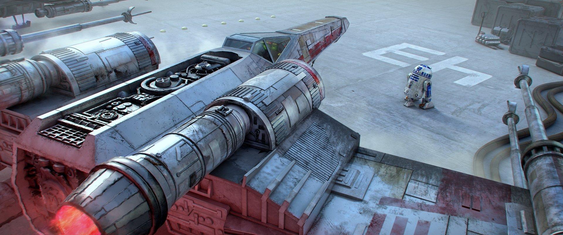 Sci Fi - Star Wars  R2-D2 X-Wing Wallpaper