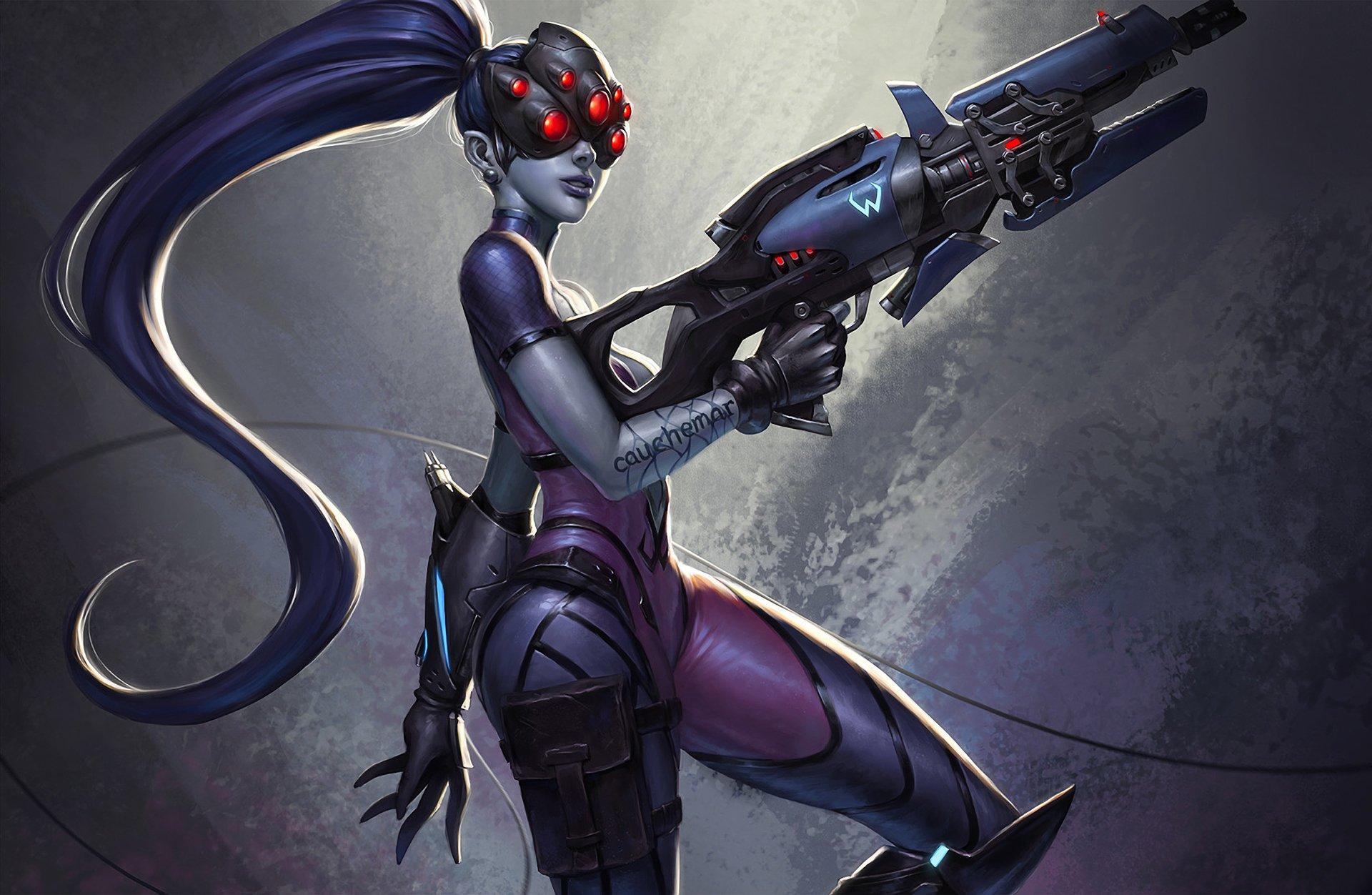 Video Game - Overwatch  Widowmaker (Overwatch) Wallpaper