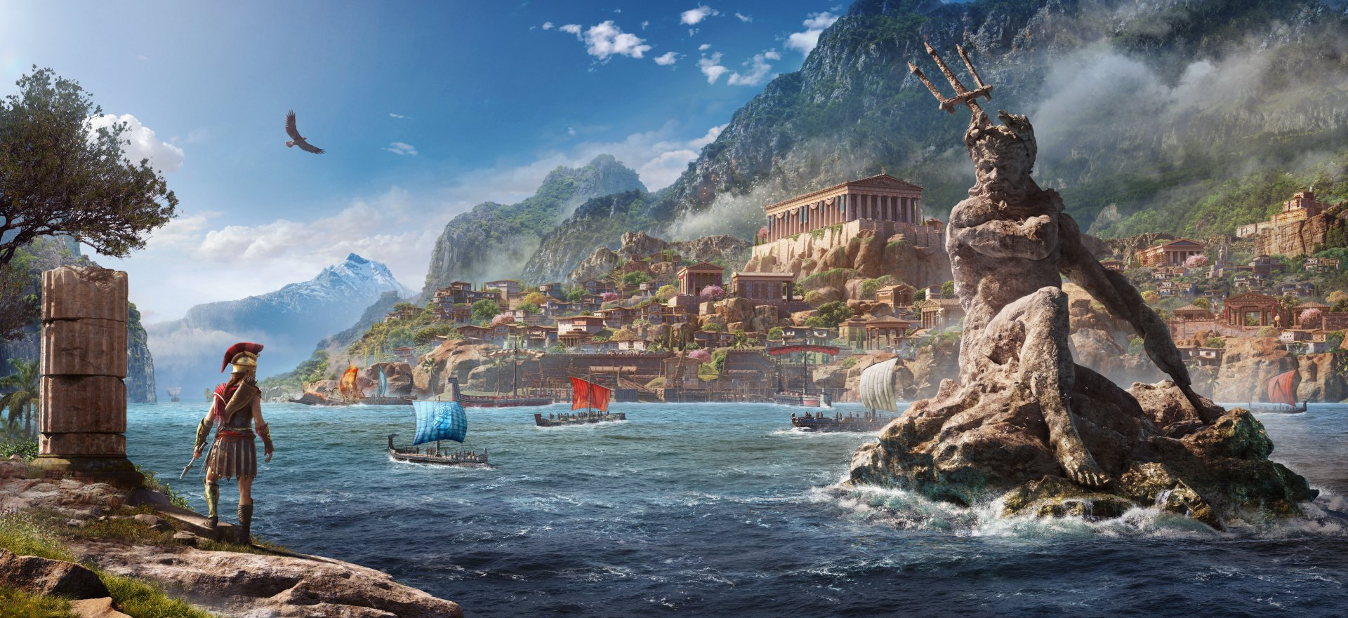 55 Assassin S Creed Odyssey Hd Wallpapers Background Images