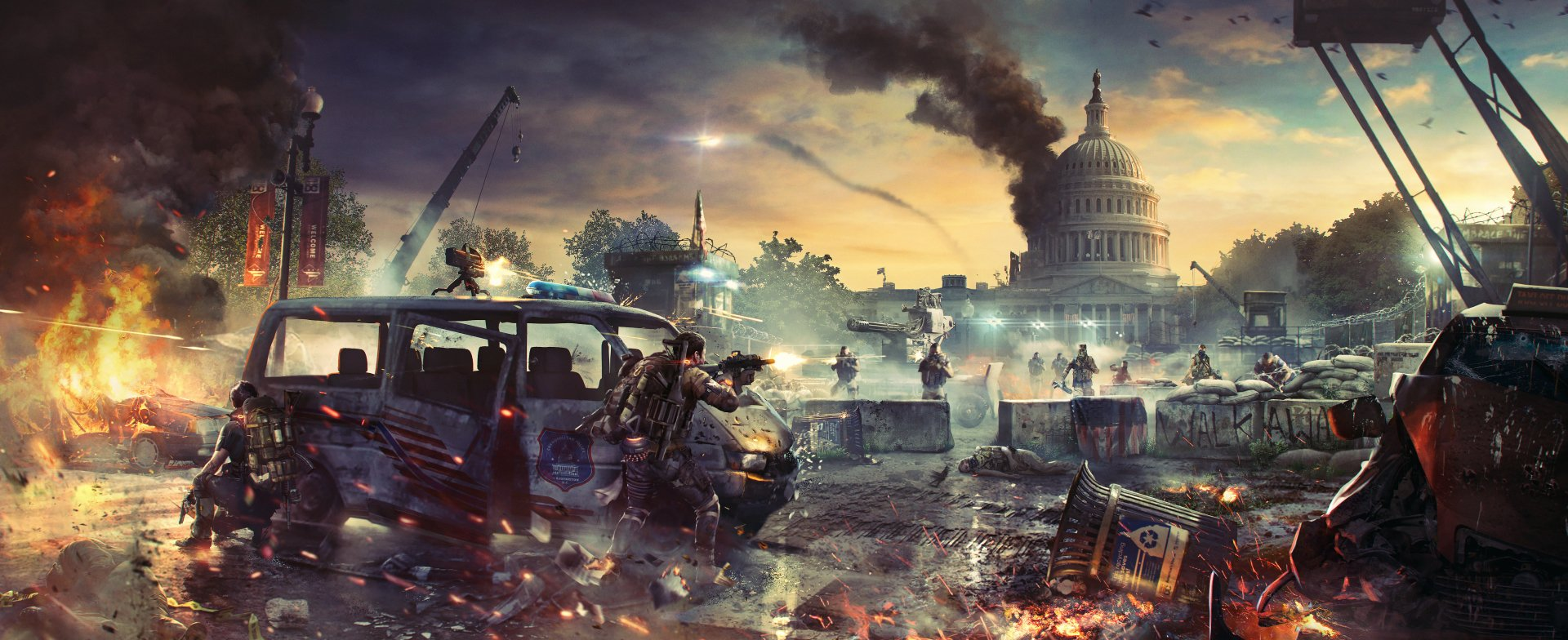 77 Tom Clancy S The Division 2 Hd Wallpapers Background Images